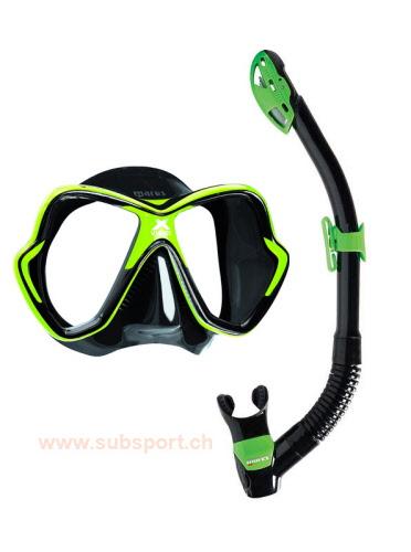set-masque-mares-x-vision-vert ! e9f71213aae6